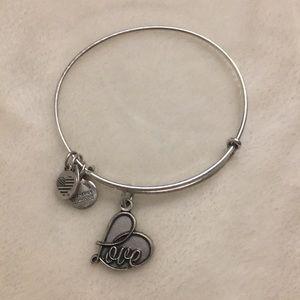 Love alex and ani bracelet